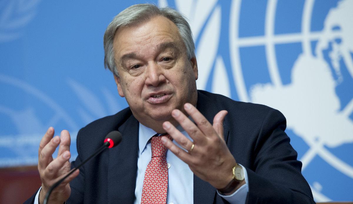 Image result for UN General Secretary António Guterres