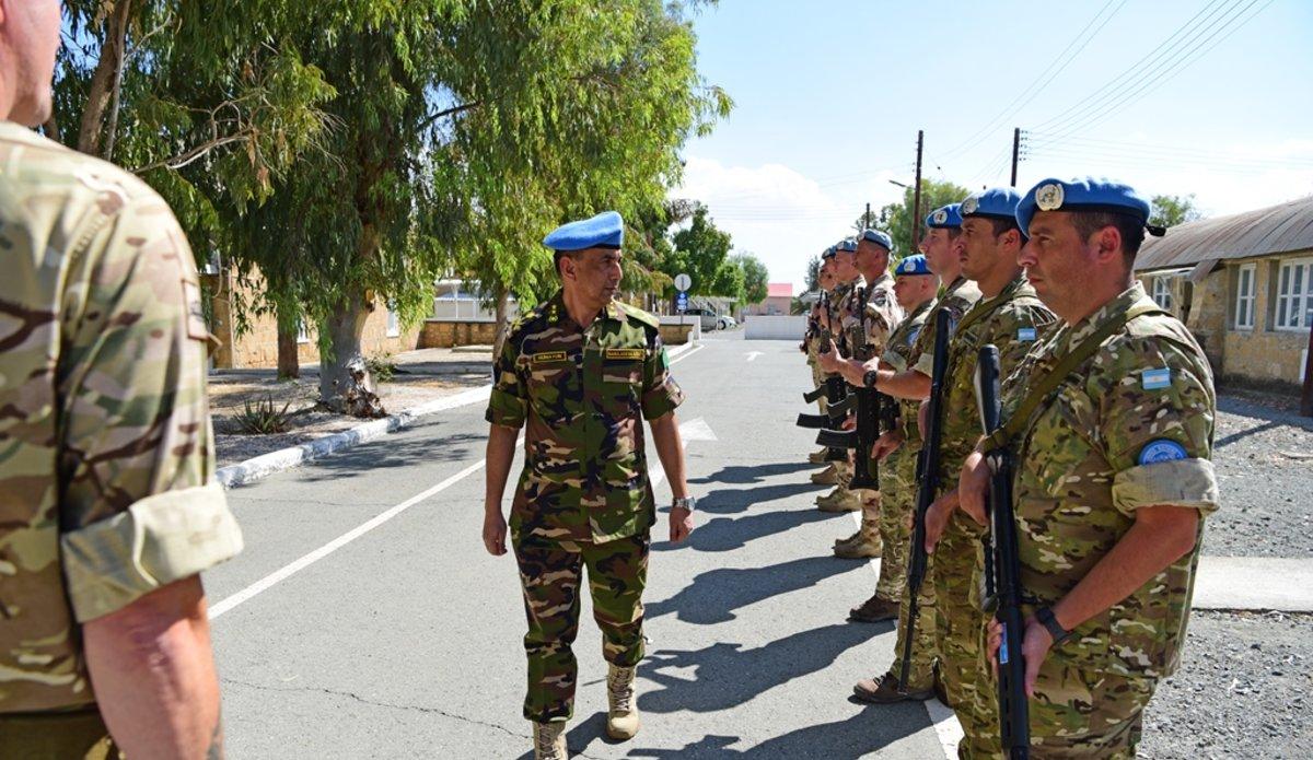 Unficyp Force Commander Major General Mohammad Humayun