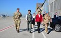 Princess Anne visits UNFICYP's British troops in Nicosia