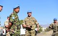 Force Commander Humayun conducts Inspections