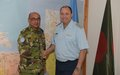 Argentinian Air Force General visits UNFICYP HQ