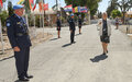 Top UN official in Cyprus salutes UNPOL officers ahead of International Peacekeepers Day