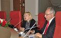 SRSG Spehar visits Eastern Mediterranean University