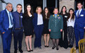 Youth and diplomats discuss young people's role in peacebuilding in Cyprus