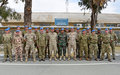 UNFICYP conducts training for new military & civilian liaison officers