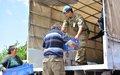 UNFICYP delivers humanitarian supplies to Maronite communities