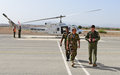 UNFICYP Force Commander Humayun hits the ground running