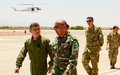 UNFICYP Force Commander conducts inspections of sectors, units