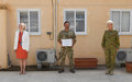 UNFICYP peacekeeper presented with UN military Gender Advocate Award