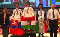 Raising the bar: Female UNFICYP peacekeeper wins European Masters Powerlifting Championship