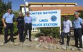 UNPOL and UNFICYP's Senior Adviser evaluate mission operations in Sector 1 of the buffer zone