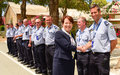 Irish Police Commissioner visits UNFICYP HQ