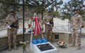 Fallen Austrian peacekeepers honoured in Koshi memorial