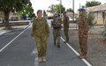 UNFICYP HEADQUARTERS SUMMER MEDAL PARADE