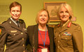 UNFICYP leadership participates in panel discussion on women in peacekeeping