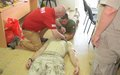 UNMAS trains UNFICYP personnel on Improvised Medical Techniques