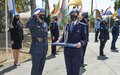 UNFICYP awards UNPOL peacekeepers for their service for peace
