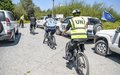UNFICYP's Police component begins bicycle patrols in the Buffer Zone